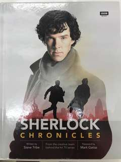 [NEW!] Sherlock: Chronicles by Steve Tribe (Hardcover)