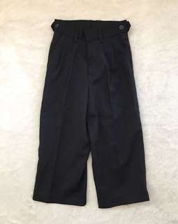 Colours Black Slacks for boys (Size 4)
