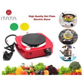 Portable Electric Stove Hot Plate Cooking Pan