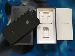 Iphone 8 Plus 64GB Spacegrey Factory Unlocked