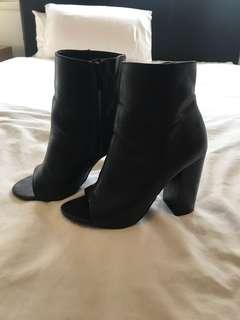 Sportsgirl peep toe heels