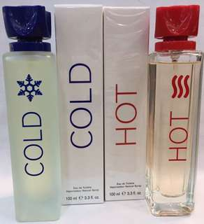 Hot / Cold Perfume 100ml BN sealed