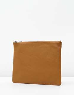 Status Anxiety Leather Clutch