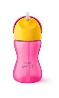 Avent 12m Straw bottle