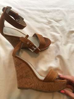 Witchery brown wedges