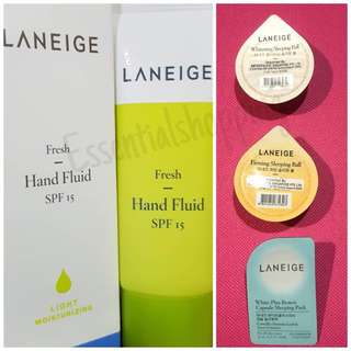 Hand Fluid & Mask Set