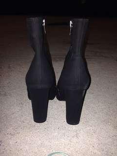 London Rebel High heel Suede boots