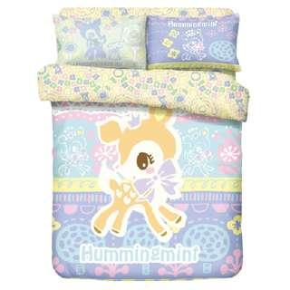 Yes Zone 卡通精品 Sanrio Character Hummingmint 正版 單人枕套床笠被套床單套裝