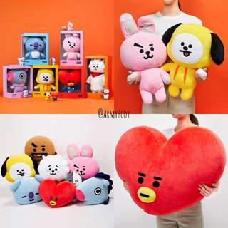 BT21 Cushion [ NEW BATCH IN MAY ]