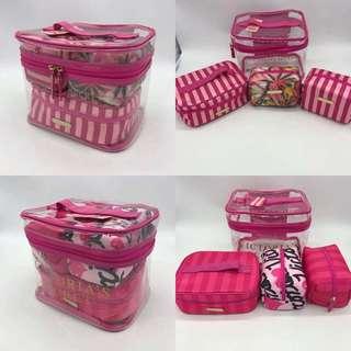 Make Up Bag Victoria's Secret Set #ramadan50