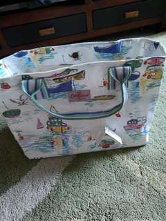 Authentic Cath Kidston large tote bag with cotton lining (2 items available)