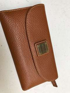 D&B Genuine Leather Wallet with Checkbook Holder