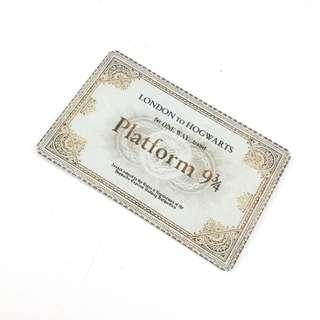 Hogwarts Express Ticket custom emoney tapcash Harry Potter