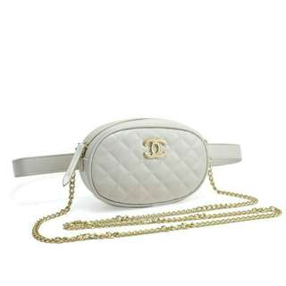 Chanel Pouch + Sling
