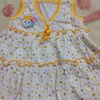 Mini Dress Yellow