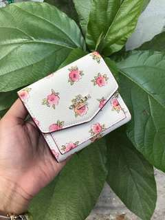 Coach small wallet with floral bloom print (PO eta 3 june)