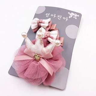 Instock - 3pc pink assorted headband, baby infant toddler girl children sweet kid happy ancdefghijkmno