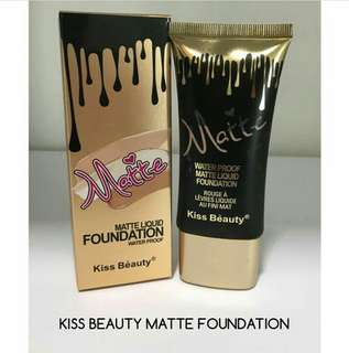 🔅Kiss Beauty Matte Foundation