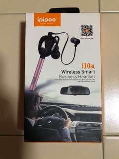 ipipoo i10BL Wireless Headset (Iron Grey)