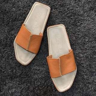 Authentic prada slipper