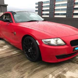 BMW Z4 2.5A coupe