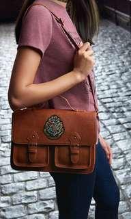 Harry potter brown bag/satchel
