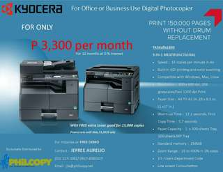 For Office or Business Use Photocopier
