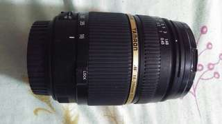 Tamron 18-200mm with filter marumi 62mm