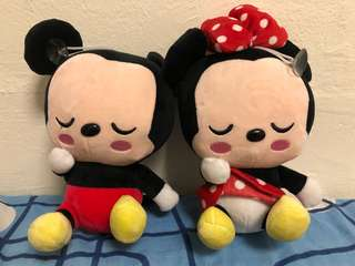 Mickey Mouse Paired Soft Toy