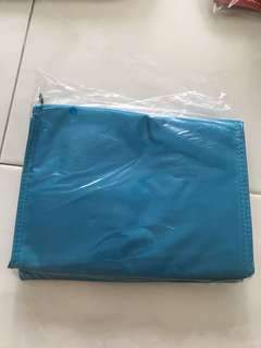 Blue milk cooler bag