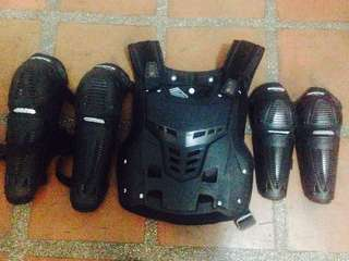 Pre owned scoyco safety gears