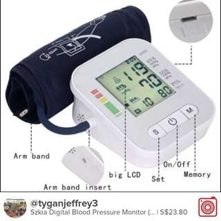 Szkia Digital Blood Pressure Monitor (RAK 289)
