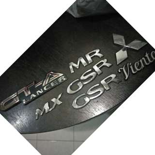 Emblem gsr viento japan lancer evo MMC GTA wira evo3