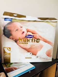 Drypers Touch NB (Newborn)