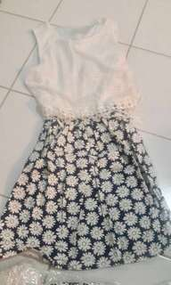 Floral Skirt Dress #ramadan50