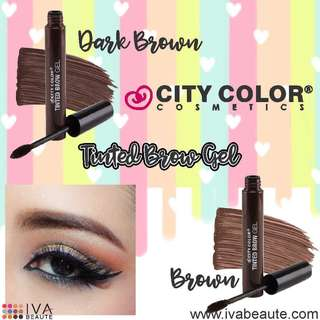 City color brow mascara