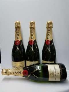 Moet Champagne4支