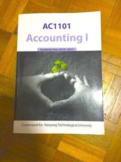 AC1101 Accounting I