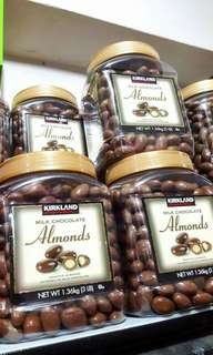KIRKLAND ALMONDS JAR