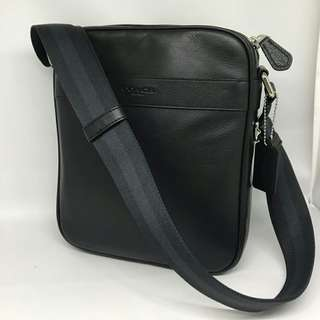 Coach Men Flight Bag Black