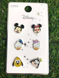 Disney Mickey and Friends Emoji Pin Badges