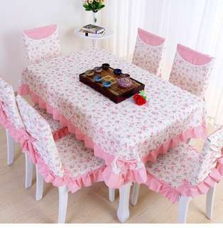 TABLE CLOTH + CHAIR COVER