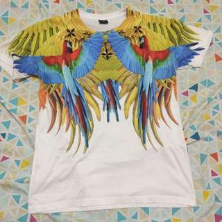 Tropical Parrots Slim Fit Shirt