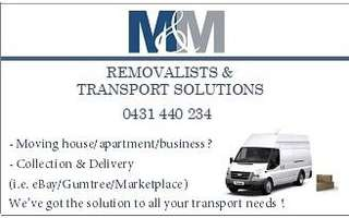 M&M REMOVALISTS & TRANSPORT SOLUTIONS