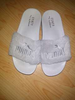 Puma Fenty Grey Wedges #RAMADAN50