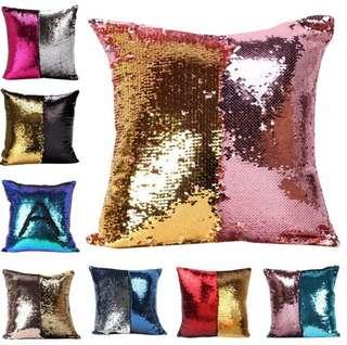 PRE ORDER magic sequin cushion
