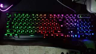 Membrane Backlit Keyboard