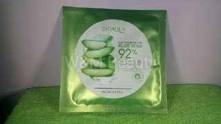 Bioaqua Aloe Vera 92% Face Mask
