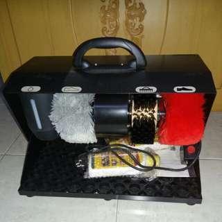 Mesin semir sepatu(shoes polisher)