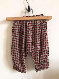 韓版絲質涼感飛鼠褲